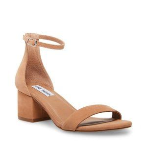 NWT Steve Madden Irenee Tan Nubuck Sandals
